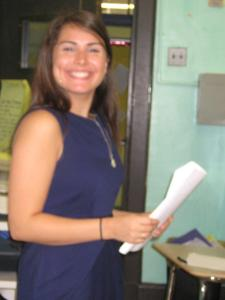 Nicole P. for tutoring lessons in New York NY